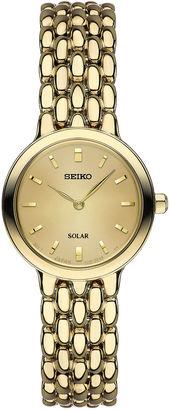 Seiko Womens Gold Tone Bracelet Watch-Sup352 $275 thestylecure.com