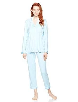 Selene Women's Long Sleeve Sleepwear Soft Loose Fit Pajama Set PJS S