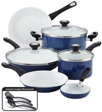 Farberware PURECOOK(tm) Ceramic Nonstick Cookware 12-Piece Cookware Set