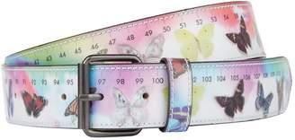 Vetements Butterfly Hologram Belt