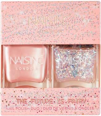 Nails Inc The Future Is Fairy Nail Polish Duo