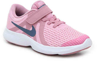 Nike Revolution 4 Toddler & Youth Running Shoe - Girl's