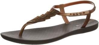 Ipanema Women's Charm IV Flat Sandals, Black/Black