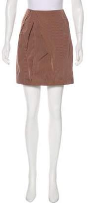 Lida Baday Pleated Striped Skirt