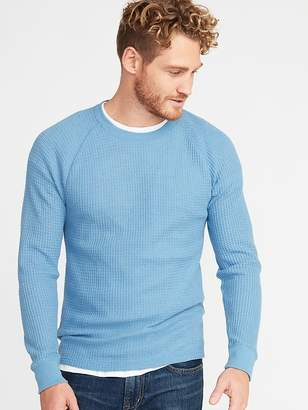 Old Navy Chunky Textured Thermal-Knit Tee for Men