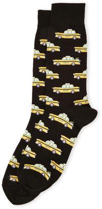 Hot Sox Taxi Socks
