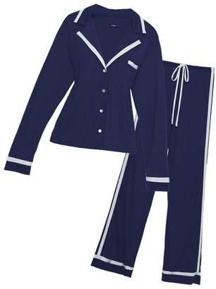Cosabella Bella Long Sleeve Top Pant Pajama Set