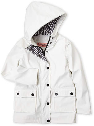 Urban Republic Girls 4-6x) White Hooded Rain Jacket