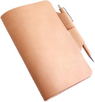 "Cabal Crafted Vegetable Tanned Leather Notebook ""Nomander"""