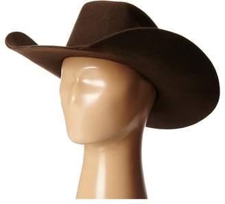 M&F Western Twister Wool Cowboy Hat w/ Flat Bow Cowboy Hats
