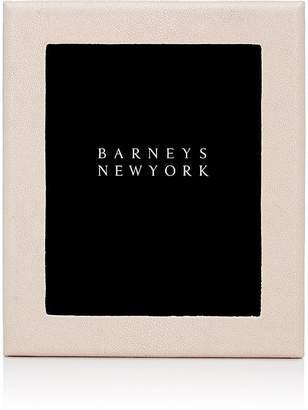 """Barneys New York Studio Shagreen-Embossed 8"""" x 10"""" Picture Frame"""