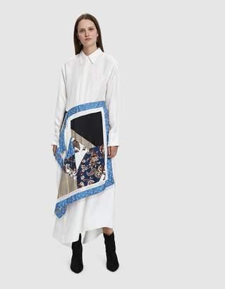 3.1 Phillip Lim Patchwork Shirt Dress