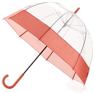 Hunter Original Moustache Bubble Umbrella, Orange