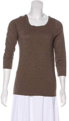 Theory Long Sleeve Knit Top