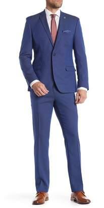 Nick Graham Two Button Notch Lapel Slim Fit Suit
