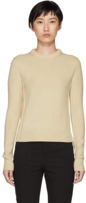 Chloé Beige Cashmere Crewneck Sweater