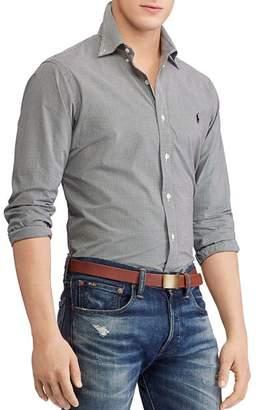 Polo Ralph Lauren Poplin Classic Fit Button-Down Shirt