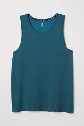 H&M Seamless Running Tank Top - Blue