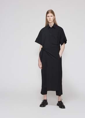 Yohji Yamamoto Y's by Asymmetric Shirt Dress