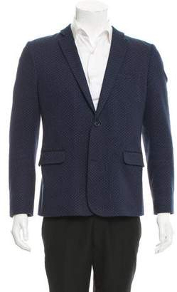 Paul & Joe Dot Print Two-Button Blazer