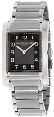 Baume & Mercier Baume Mercier Hampton Black Dial Stainless Steel Ladies Watch M0A10021