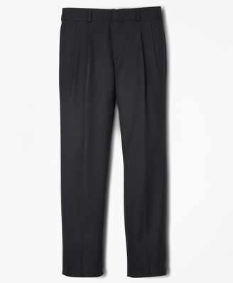 Brooks Brothers BrooksEase Prep Pleat-Front Dress Trousers