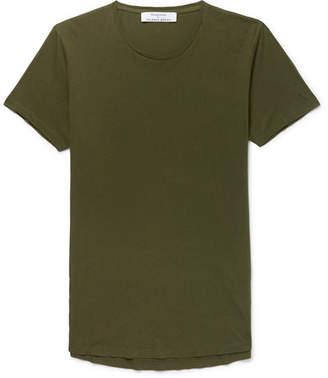 Orlebar Brown Kingsman - + Ob-t Slim-fit Cotton-jersey T-shirt - Army green
