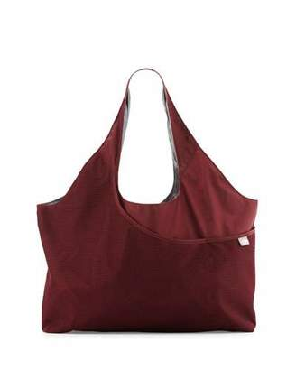 The North Face On the Run Tote Bag, Deep Garnet Red/Zinc $35 thestylecure.com
