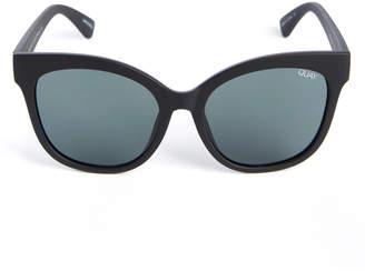 Quay Its My Way Matte Black Sunglasses