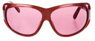 Prada Tinted Oval Sunglasses