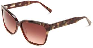 Derek Lam Women's Tess Wayfarer Sunglasses