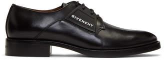 Givenchy Black Cruz Derbys
