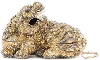 Judith Leiber Couture Majesty Foo Dog bag