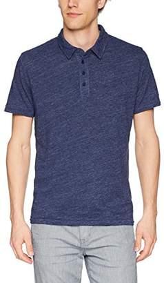Lucky Brand Men's Linen Polo TEE Shirt