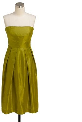 Silk taffeta Lorelei dress