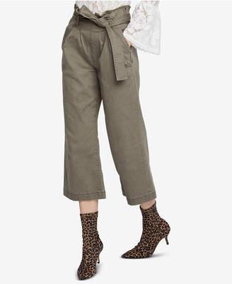 Rachel Roy Cropped Paperbag Pants