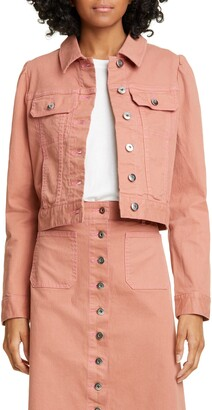 Kate Spade Crop Denim Jacket