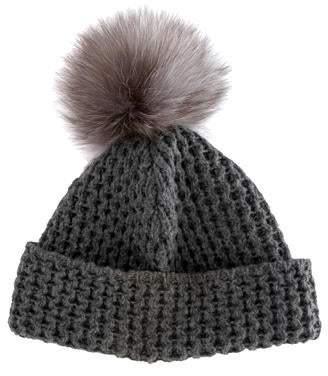 Neiman Marcus Wool Beanie Hat