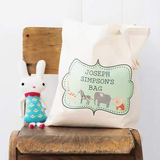 Lou Brown Designs Personalised Children's Bag