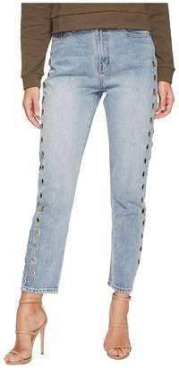 MinkPink The Youth Scando Jeans in Vintage Blue Women's Jeans