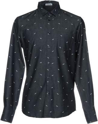 Bikkembergs Denim shirts - Item 42655622
