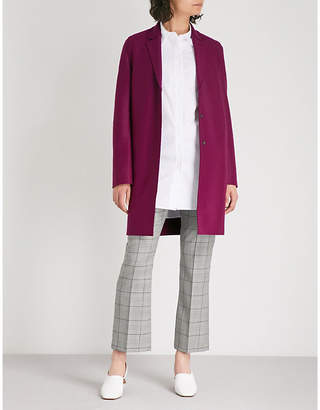 Harris Wharf London Cocoon pressed-wool coat