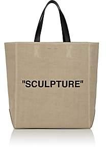 """Off-White Women's """"Sculpture"""" Canvas Tote Bag - Cream"""