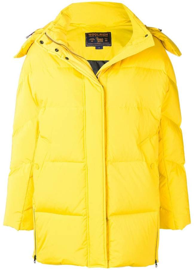 Woolrich padded oversized jacket