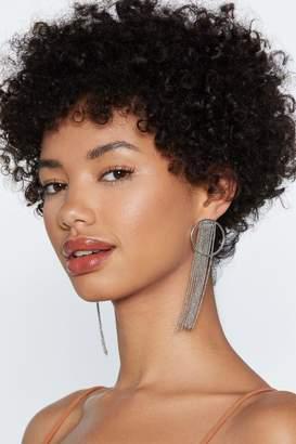 Nasty Gal Prima Donna Hoop Earrings