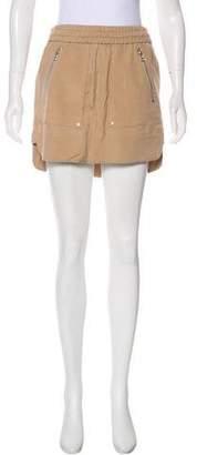 Veronica Beard A-Line Mini Skirt
