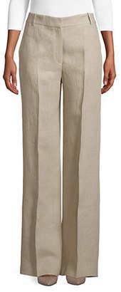 Theory Wide Leg Linen Pants