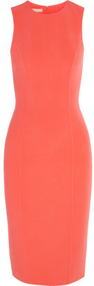 Michael Kors Collection - Stretch-wool Dress - Coral $1,595 thestylecure.com