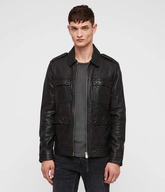 AllSaints Kage Leather Jacket