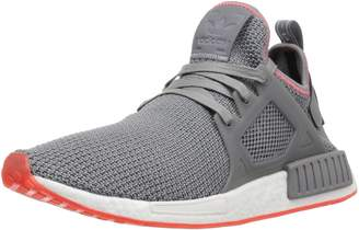 adidas Men's NMD_XR1 Running Shoe, Grey Three/Solar red, 11.5 M US
